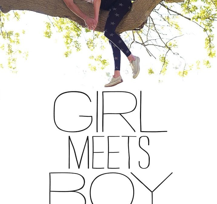 Sick of us yet? More GIRL MEETS BOY Blog Tour stuff!