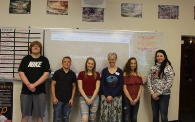 Maple River Creative Writing students